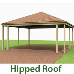 Carport hip thumb