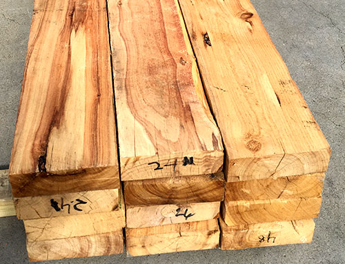 Cypress Pine Sleepers