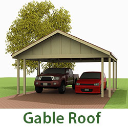 Gable roof thumb