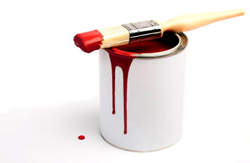 paint brush bucket