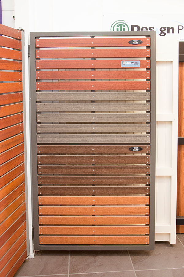 Modwood Slatted Gate 50x50 Steel Frame small